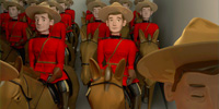 Mountie Illustration
